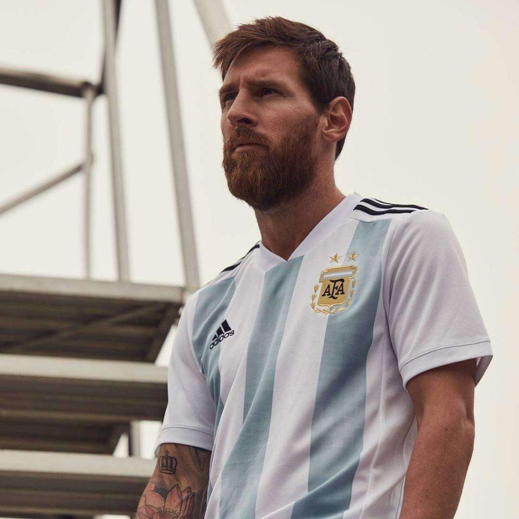 Fotbalové dresy Argentina MS 2018