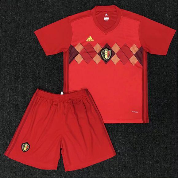 Fotbalové dresy Belgie MS 2018