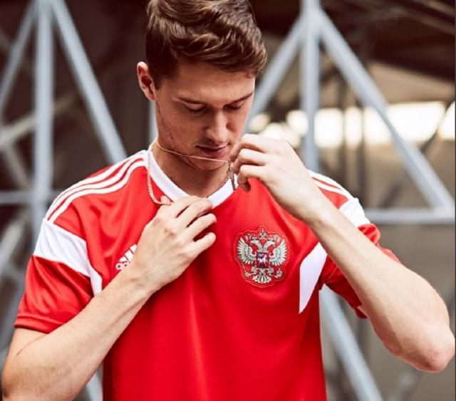 Fotbalové dresy Rusko MS 2018