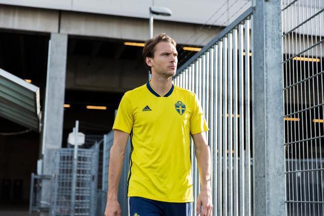 Fotbalové dresy Švédsko MS 2018